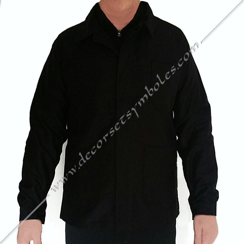 VCH110-veste-maconnique-bourgeron-noire-charpentier-coton-decors-accessoires-maconniques-outils-cadeaux-loge-rite-fm