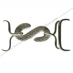 Buckle Silvery Belt -...