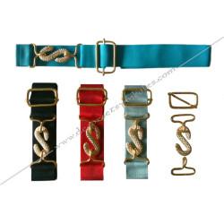 ACC040-extensions-maconnique-ceintures-polyester-noires-blanches-bleu-ciel-turquoise-rouge-accessoires-decors-tabliers-fm