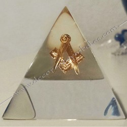 MSC001-cadeaux-maconnique-pyramide-cristal-synthese-objets-souvenirs-anniversaire-jubile-articles-franc-maconnerie-decors-fm
