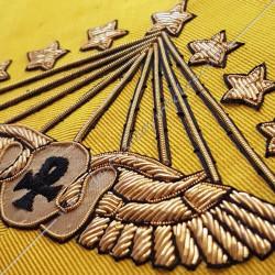HRM160-sautoirs-cordons-maconniques-95-95eme-degre-rite-memphis-misraim-decors-loges-fm-symboles-egyptiens-isis-osiris