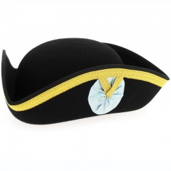 Black Masonic Tricorn - Hat...