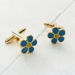 boutons-manchettes-maconniques-myosotis-decors-cadeaux-bijoux-franc-maconnerie-francs-macons-bleu-jaune
