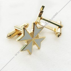 Malta Cross Cufflinks -...