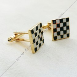 Set Cufflinks + Pin Masonic...