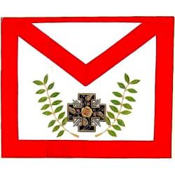 HRA045-tablier-maconnique-gldf-reaa-rose-croix-18eme-degre-rite-ecossais-ancien-accepte-decors-loges-chapitre-fm