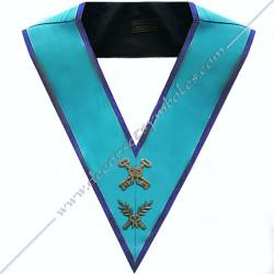 SRM101B-sautoir-maconnique-officier-tresorier-rite-misraim-venise-toulouse-montauban-decors-accessoires-egyptien-goe-fm