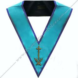 SRM102B-sautoir-cordon-maconnique-officier-couvreur-rite-misraim-venise-toulouse-montauban-decors-accessoires-egyptien-goe-fm