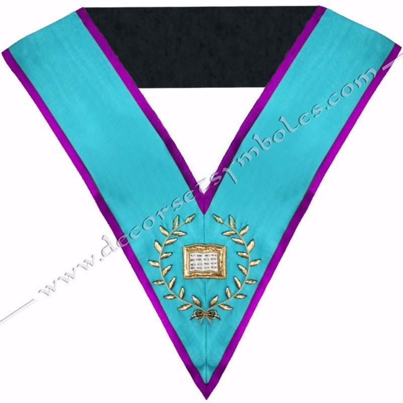 SRM018P-sautoir-cordon-maconnique-officier-orateur-rite-memphis-misraim-venise-toulouse-decors-accessoires-egyptien-goe-fm