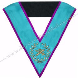 SRM016P-sautoir-cordon-maconnique-officier-grand-expert-rite-memphis-misraim-venise-toulouse-decors-accessoires-egyptien-goe-fm
