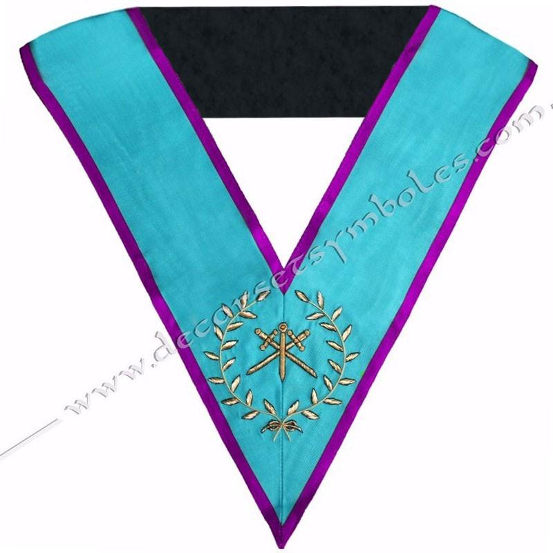 SRM019P-sautoir-cordon-maconnique-officier-maitre-ceremonie-rite-memphis-misraim-venise-toulouse-decors-gyptien-goe-fm