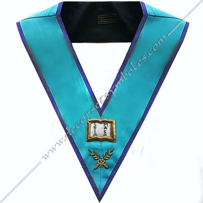SRM106B-sautoir-cordon-maconnique-officier-orateur-rite-misraim-venise-toulouse-montauban-decors-accessoires-egyptien-goe-fm
