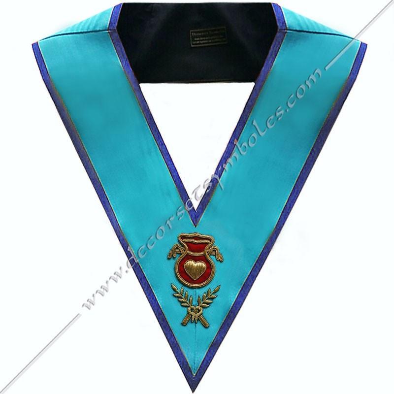 SRM103B-sautoir-cordons-maconnique-officier-hospitalier-rite-misraim-venise-toulouse-decors-accessoires-egyptien-goe-fm