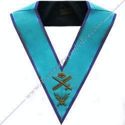 SRM106B-sautoir-cordon-maconnique-officier-grand-expert-rite-misraim-venise-toulouse-decors-accessoires-egyptien-goe-fm