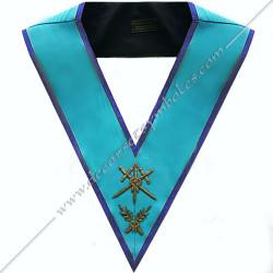 SRM106B-sautoir-cordon-maconnique-officier-maitre-ceremonies-rite-misraim-venise-decors-accessoires-egyptien-goe-fm