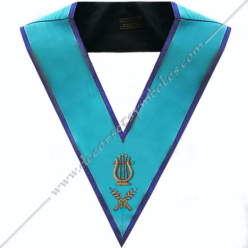 SRM171B-sautoir-cordon-maconnique-officier-maitre-musique-rite-misraim-venise-toulouse-decors-accessoires-egyptien-goe-fm
