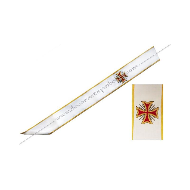 BCB020B-cordon-baudrier-maconnique-cbcs-chevalier-bienfaisant-cite-sainte-templier-rer-rite-regime-ecossais-rectifie-decors-fm