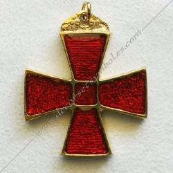 FGK352-masonic-jewel-cbcs-pectoral-cross-rer-rite-regime-ecossais-rectifie-templars-knights-beneficent-holy-city-fm