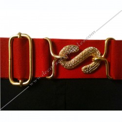 tablier, franc maçonnerie, dos noir, crane, boucle, gants, poche, ceinture, élastique, décors, symboles maçonniques
