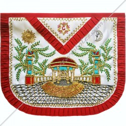 TRA068R-masonic-regalia-apron-aasr-ancient-accepted-scotish-rite-voltaire-rousseau-mozart-prestige-gifts-lodges-fm