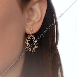 bijoux-boucles-oreilles-acacia-dorees-maconniques-symboles-decors-femmes-cadeaux-franc-maconnerie