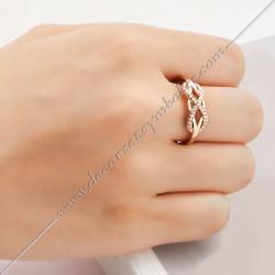 bague-maconnique-infini-lac-amour-bijoux-loges-or-argent-cadeaux-femmes-franc-maconnerie- strass