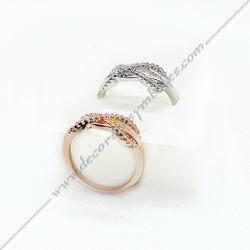 bague-maconnique-infini-lac-amour-bijoux-femmes-or-argent-cadeaux-cadeaux-symboles-franc-maconnerie- diamant