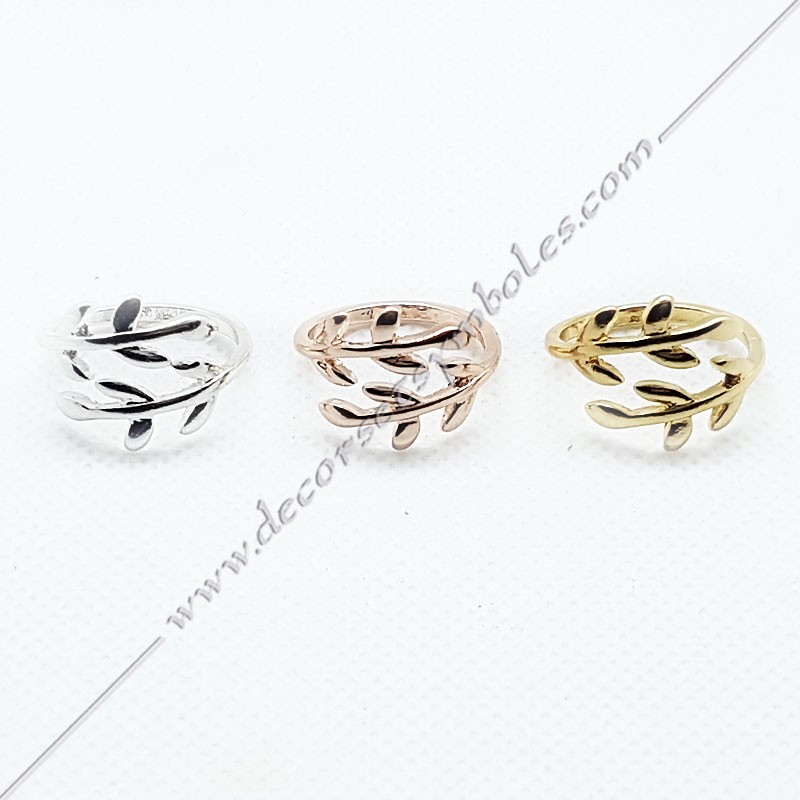 bagues-maconniques-bijoux-loges-or-argent-cadeaux-femmes-franc-maconnerie- feuilles-branches-acacia-decors-symboles