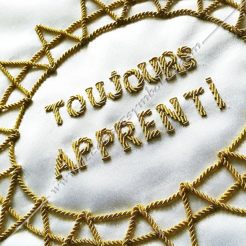 Tablier de Maître - Rite Francais Traditionnel - TRFT 002C