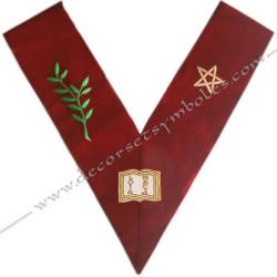 HRA032-sautoir-cordons-maconnique-officier-grand-orateur-14eme-degre-reaa-rite-ecossais-ancien-accepte-fm