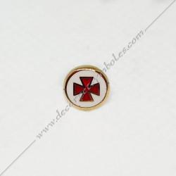 Pin's Mini Croix Templiere...