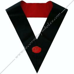 HRF144-sautoir-4eme-ordre-rite-francais-chapitre-hauts-grades-decors-maconniques-loges-rose-rouge-gcg-fm