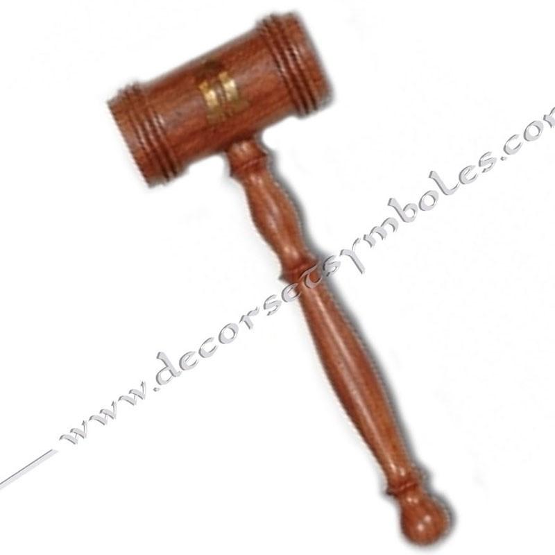 OUT012-maillet-maconnique-bois-symbole-2nd-surveillant-accessoires-outils-loge-decors-fm