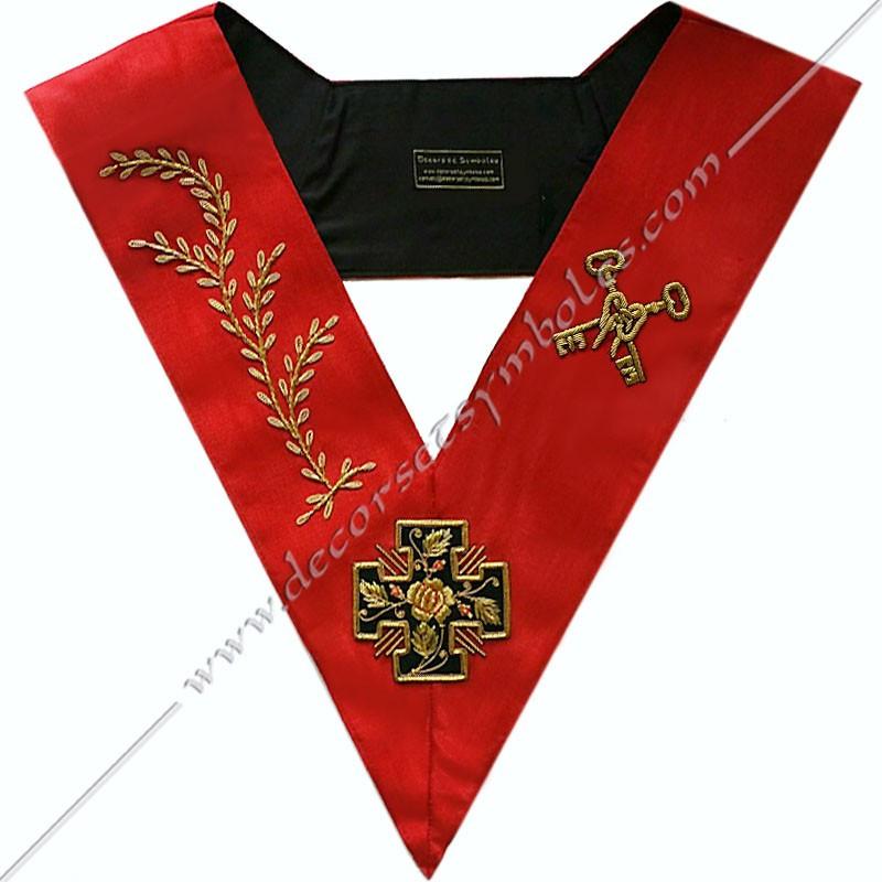 HRA116-sautoir-cordon-maconnique-officier-18eme-degre-reaa-chevalier-grand-tresorier-atelier-perfection-fm