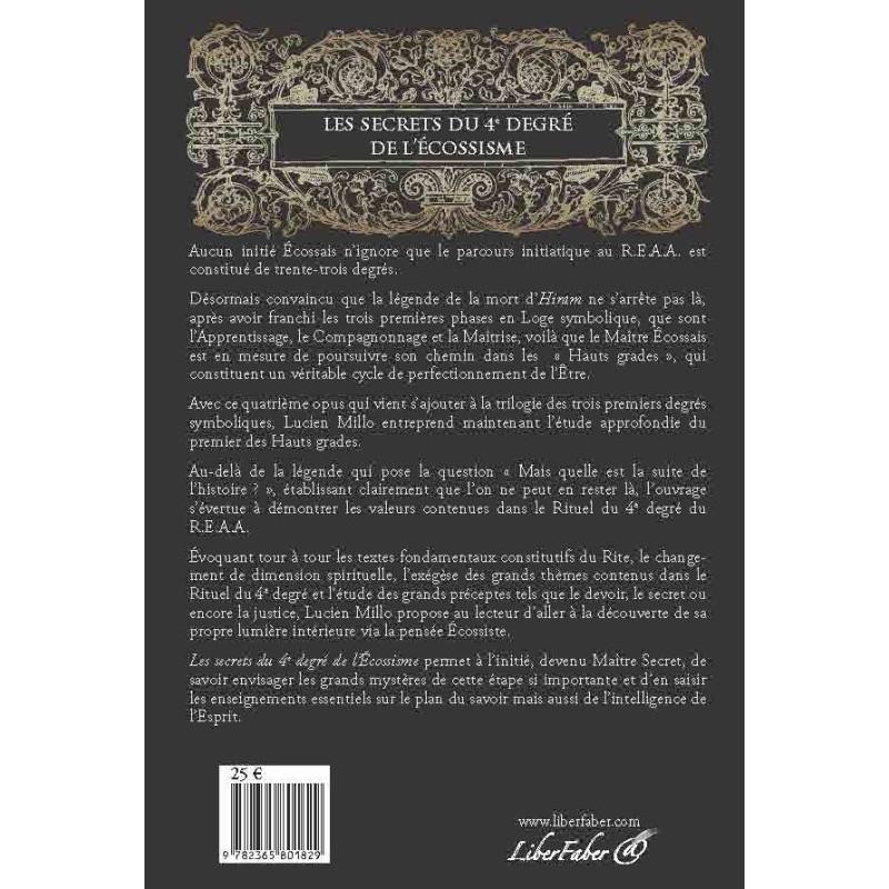 Tablier 3eme Ordre - Rite Francais - HRF 330