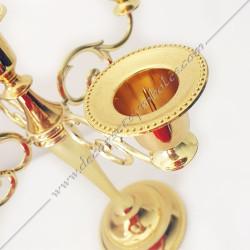 Pin's Pythagore en métal doré - PIN 006