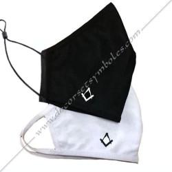 MAS001-masques-maconniques-coton-lavables-covid-19-franc-maconnerie-decors-symboles-equerre-compas-noirs-blancs-fm