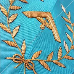 1er surveillant, sautoir d'officier RF, acacia, décors maçonniques, bijoux, franc maçonnerie, loges bleues