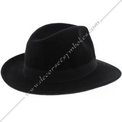 CHA012-chapeaux-maconniques-coiffes-calot-couvre-chefs-camarguais-feutre-borsalino-fm-ceremonies-loges