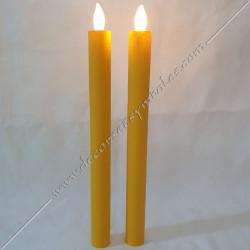 ACC092-bougies-chandelles-maconnique-jaunes-led-flammes-allumages-lampes-lumieres-decors-outils-fm-loges