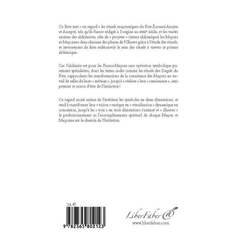 Tablier Maitre Ecossais Saint André - Rite Ecossais Rectifié - TSA 284