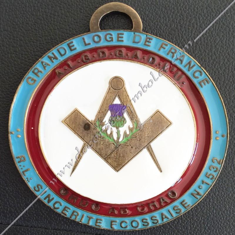Sautoir Officier - Hospitalier - Memphis - GOE - Misraim - SRM 003P