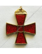 Masonic jewelry from the lodges of Scotih Rite