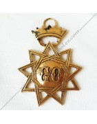 Masonic Regalia for Advisers or Dignitaries of the Order of Grand Orient de France