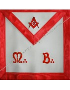 Masonic Regalia Master Aprons AASR , ancient and accepted scotish rite