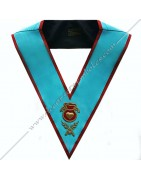 Masonic Regalia Officers collars of AASR