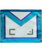 Masonic Regalia aprons, collars, sashes of high quality of Memphis Mis