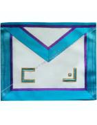 Masonic Regalia Master aprons of Memphis Misraim rite