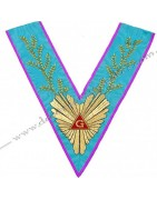 Masonic Regalia Worshipful Master collars, sashes of Memphis Misraim