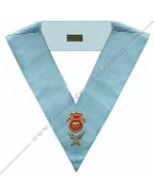 Masonic Regalia French Modern Rite Officiers collars